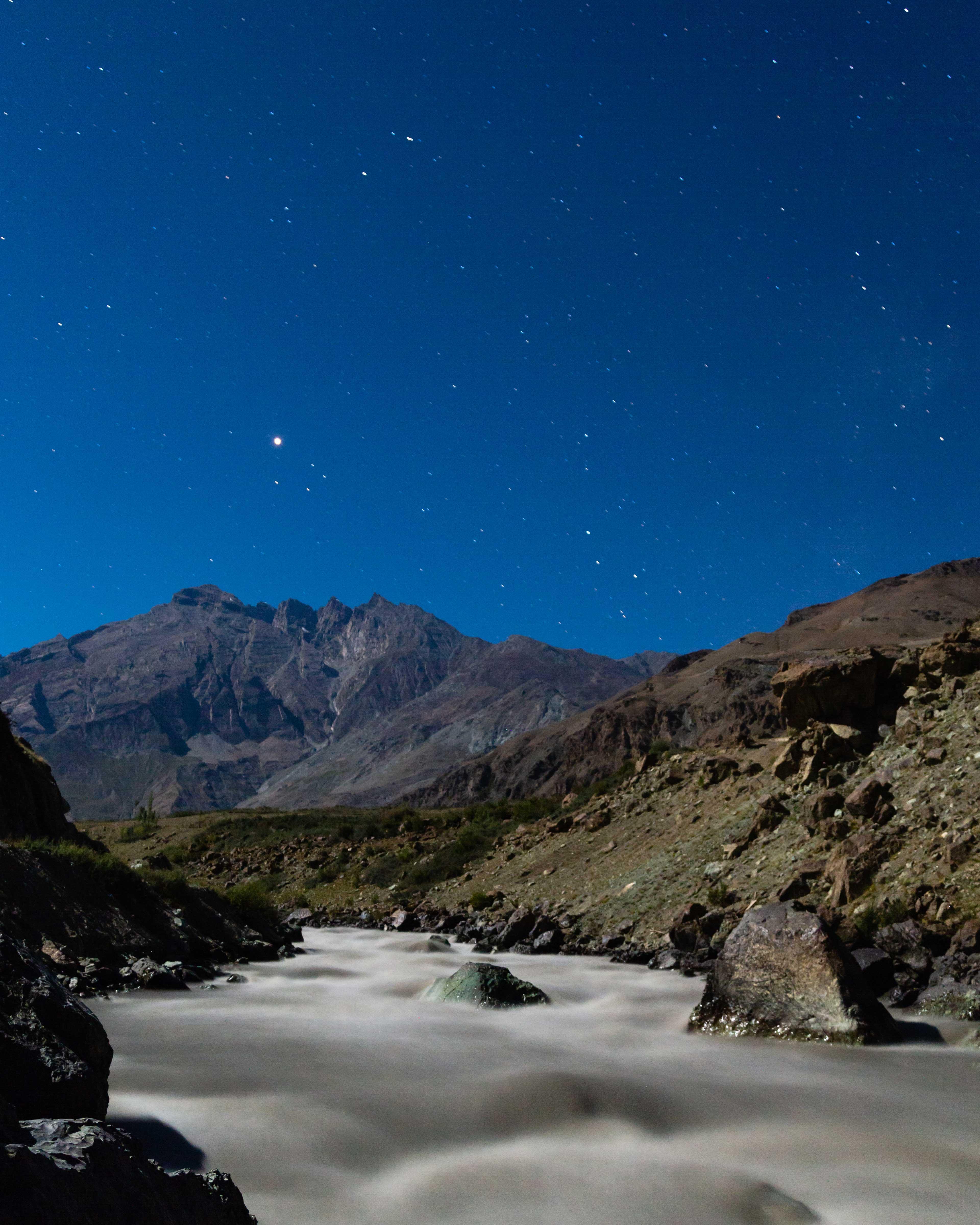 River suru at night