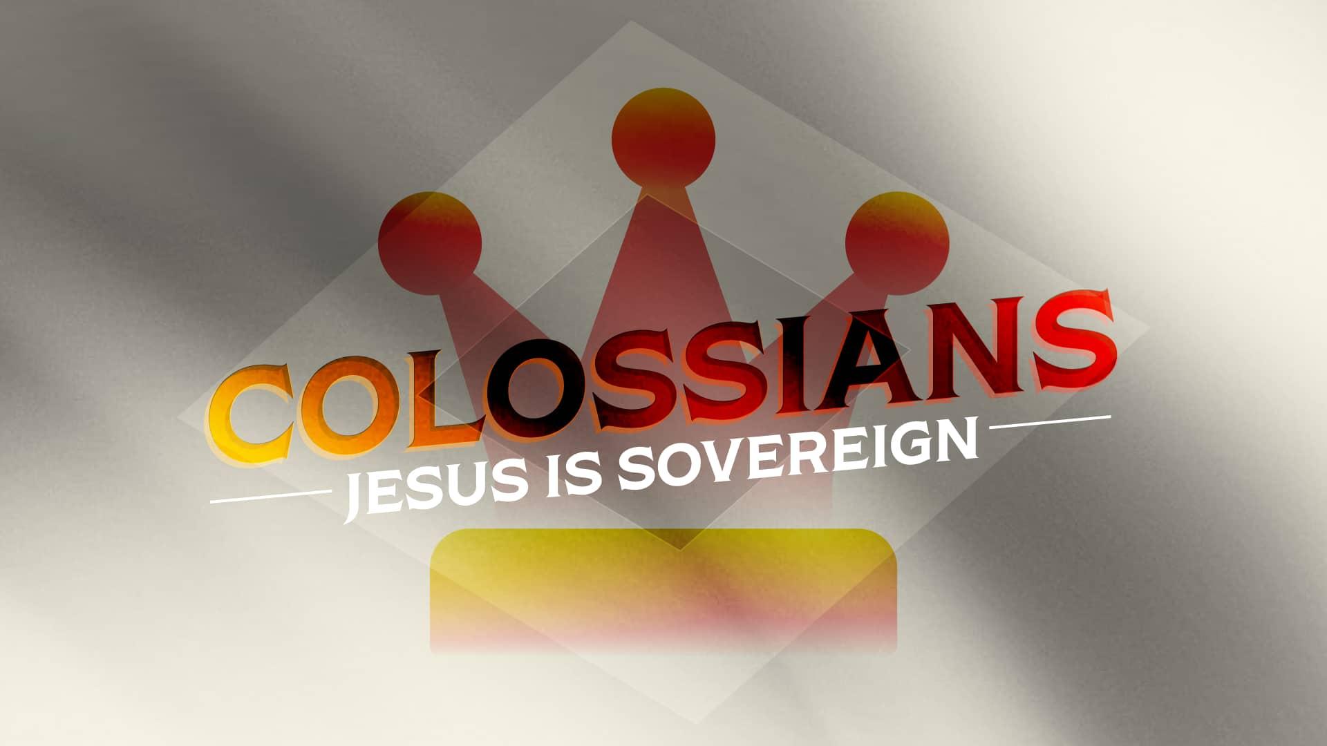 Jesus is Sovereign