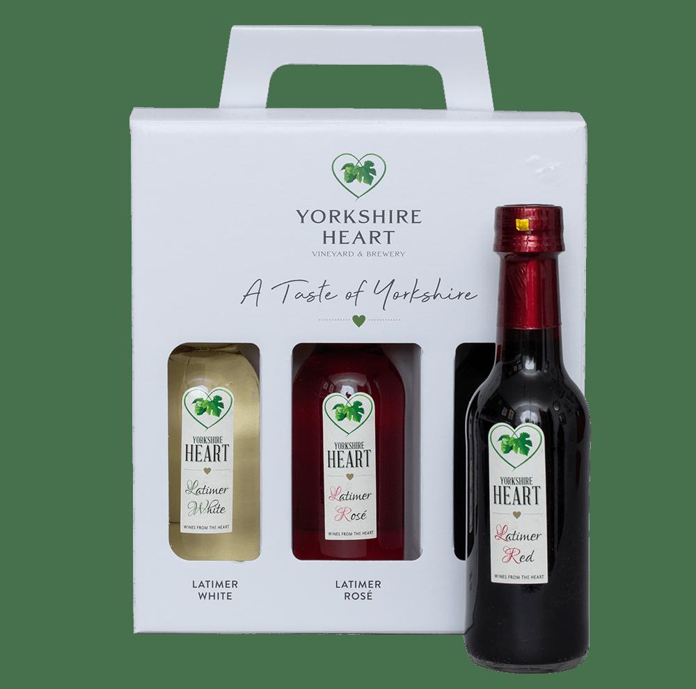 Yorkshire Heart Wine Set