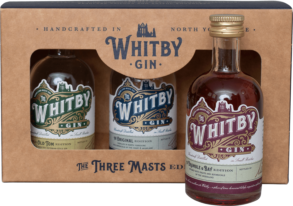 Whitby Gin Three Masts Edition