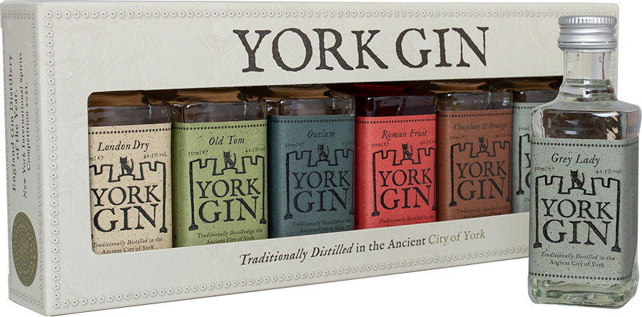 York Gin Tasting Collection