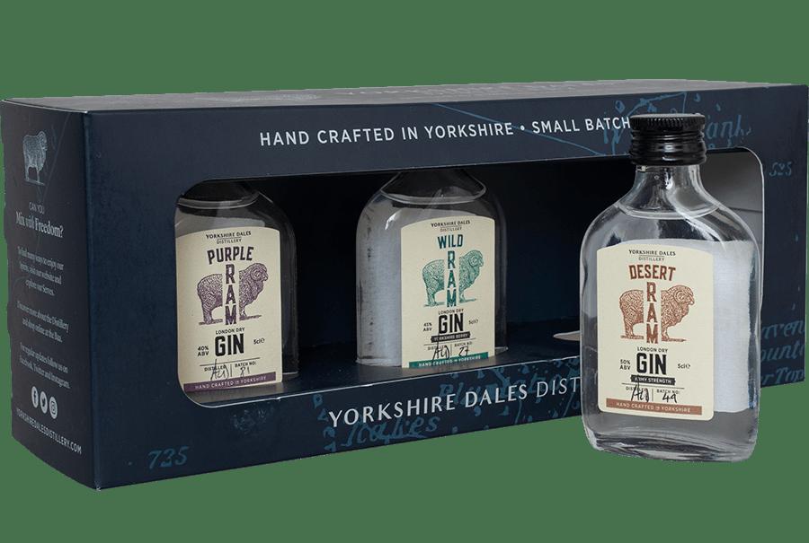 Yorkshire Dales Distillery Triple Pack