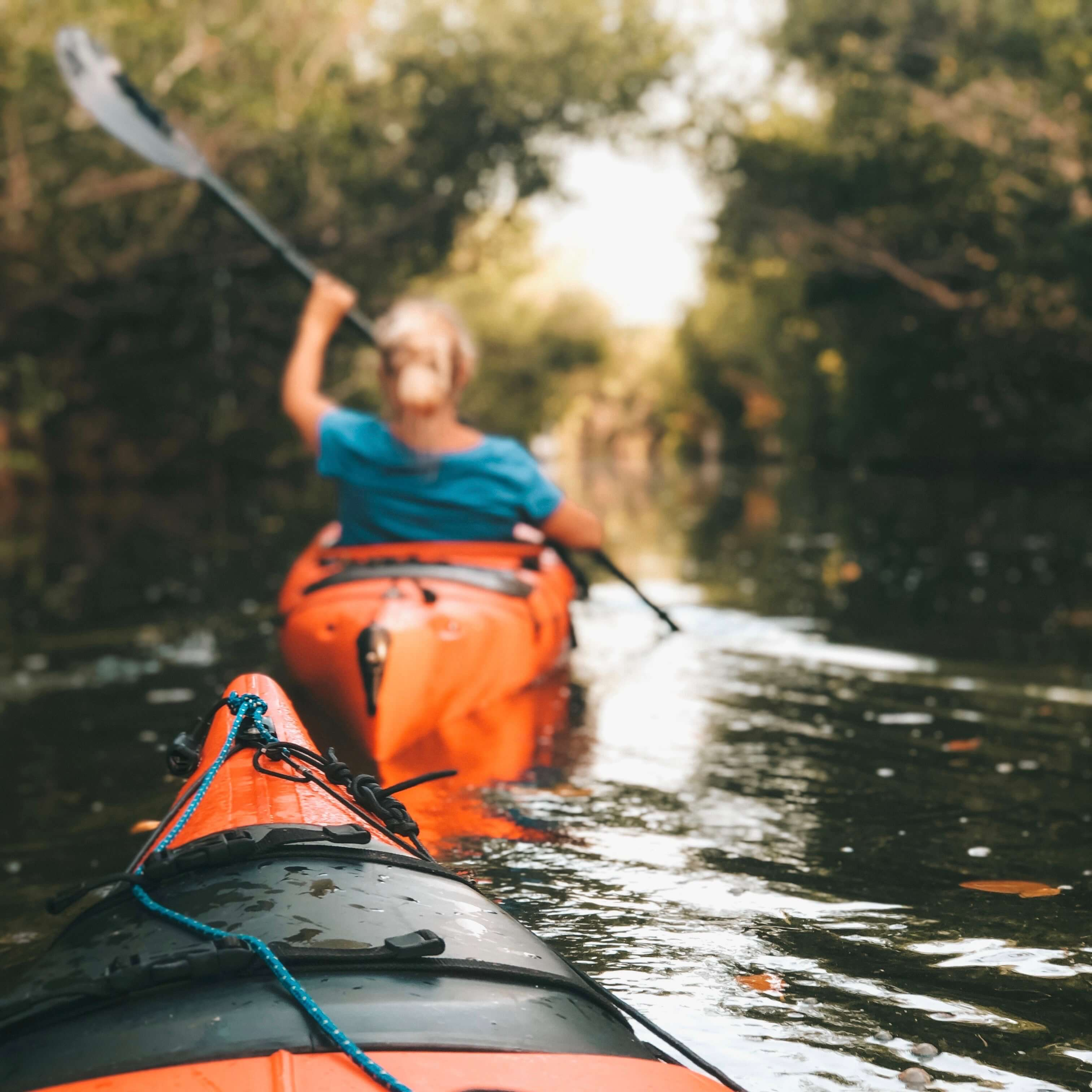 head out Kayaking
