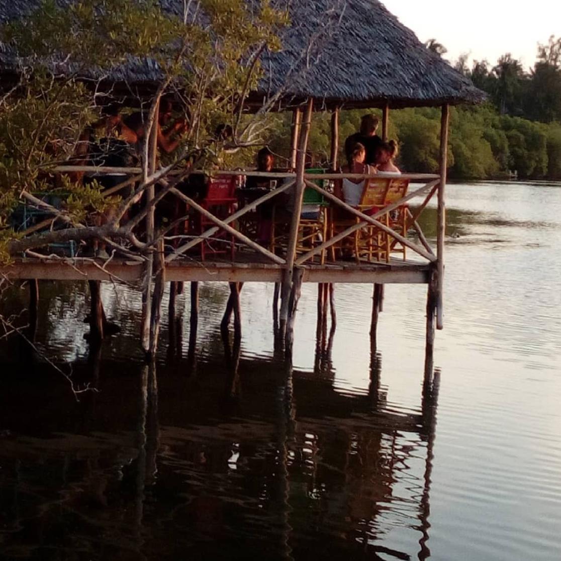 Prawn lake