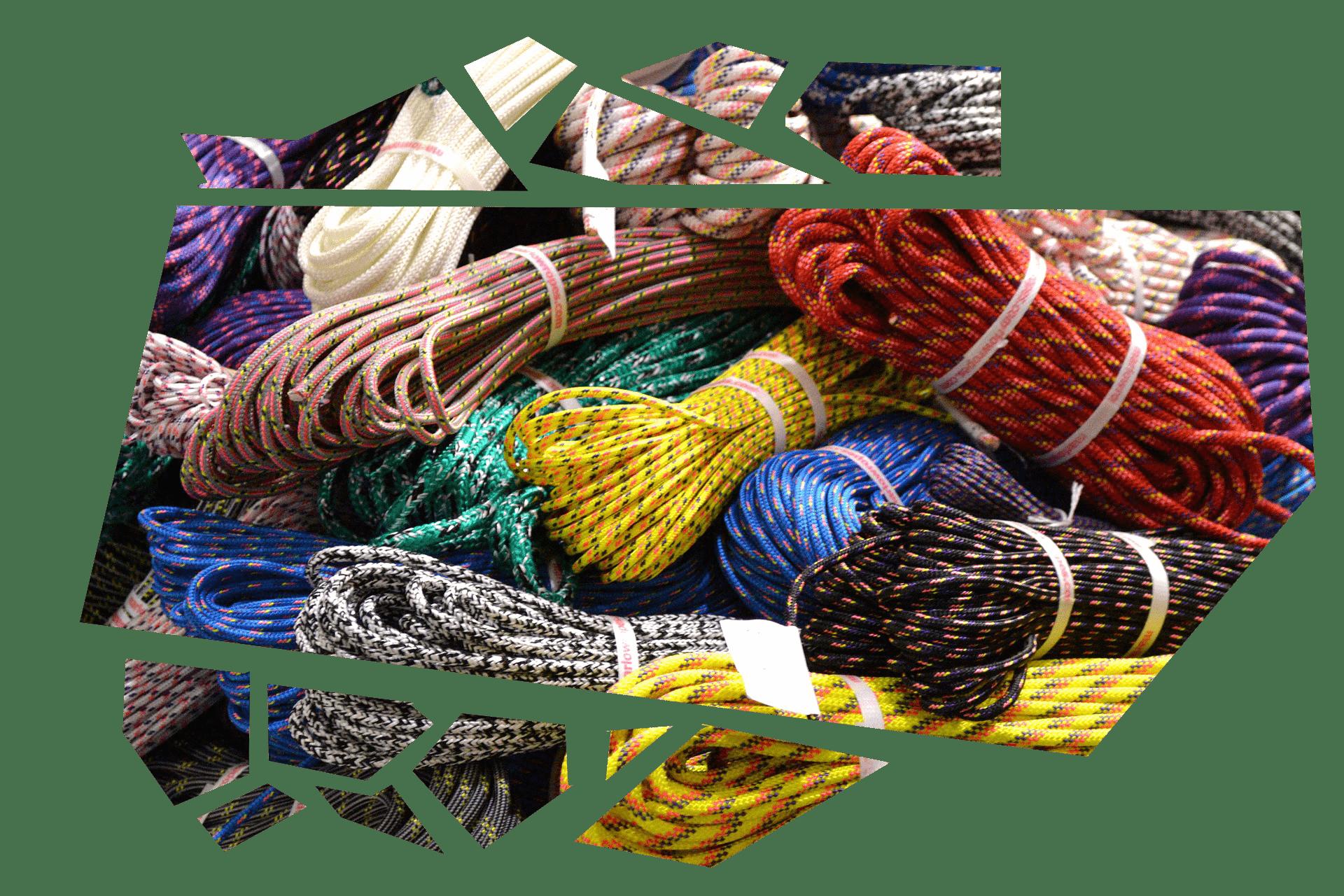 Recyclage de cordes d'escalade