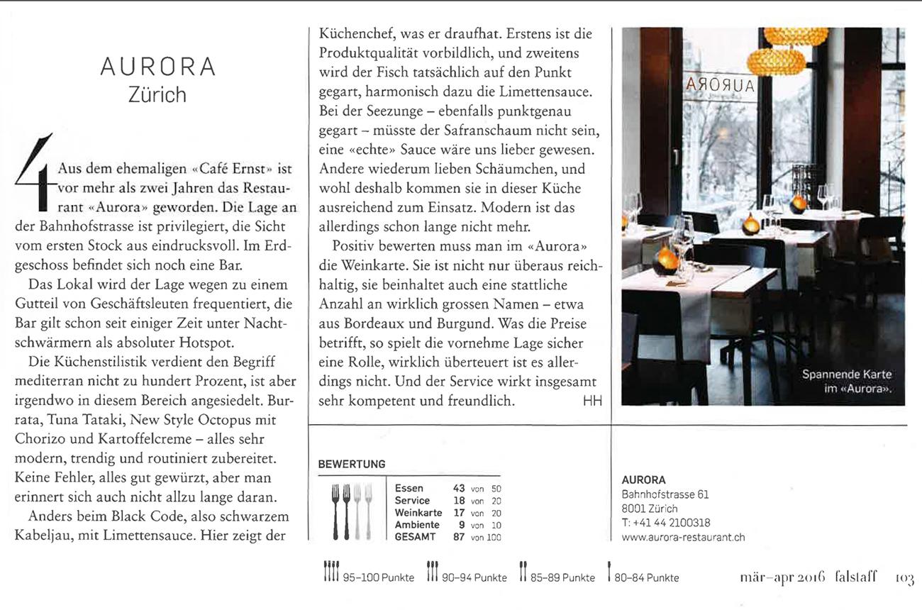 Aurora Presse | Falstaff
