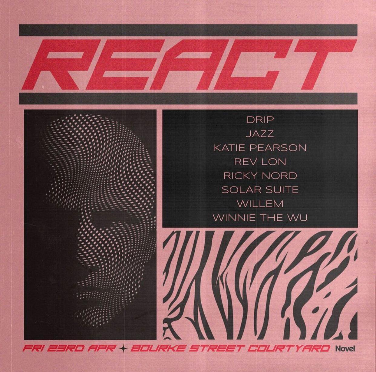 react three