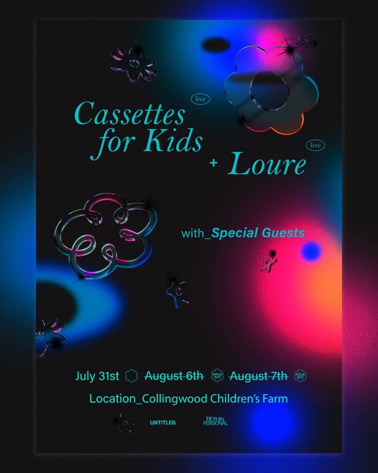 Cassettes for Kids + Loure