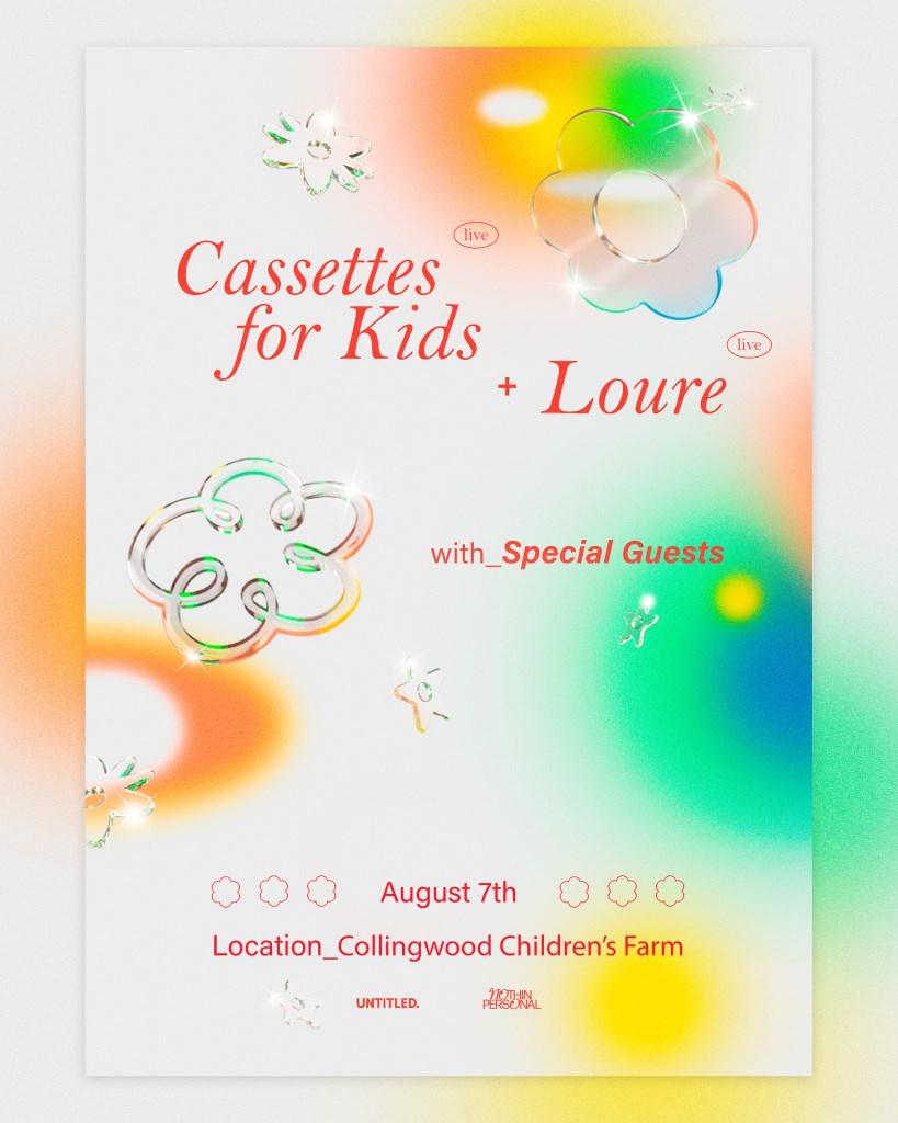 Casettes for Kids + Loure 2