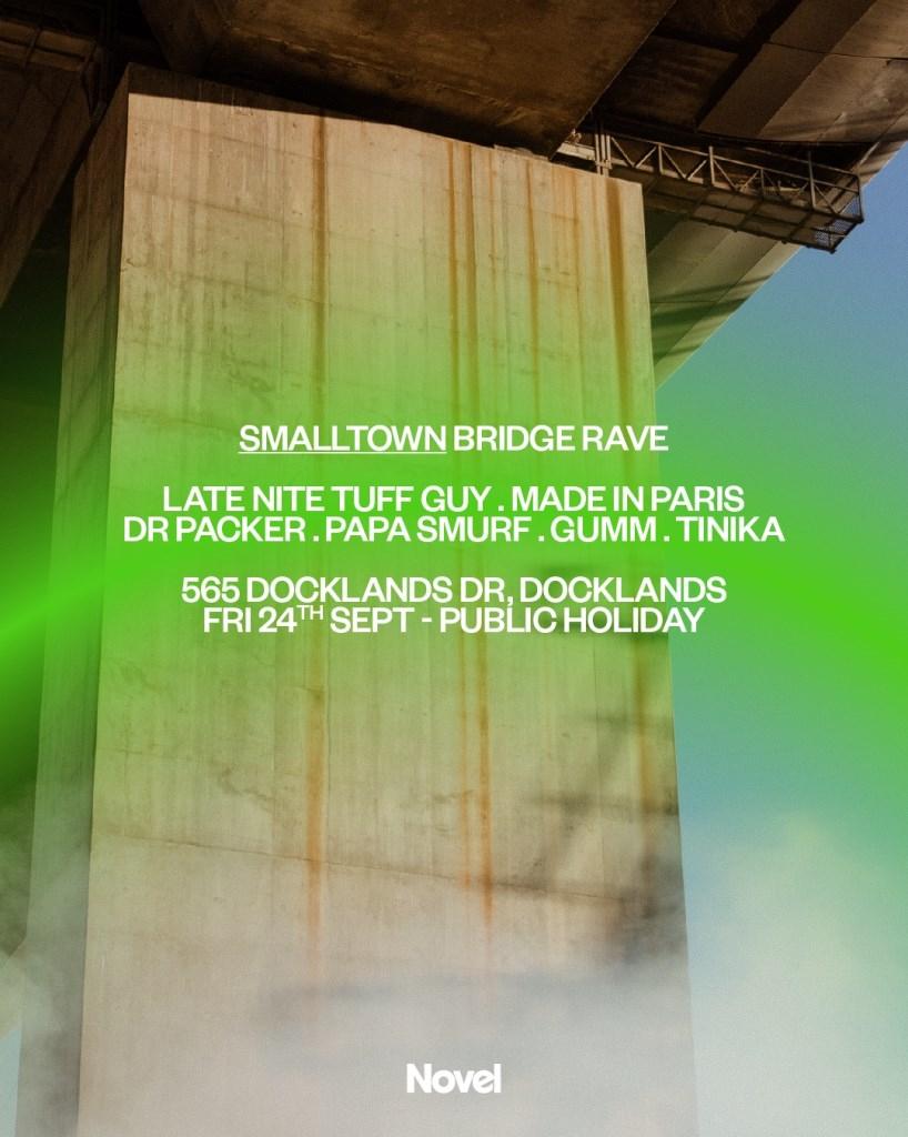 Smalltown bridge rave