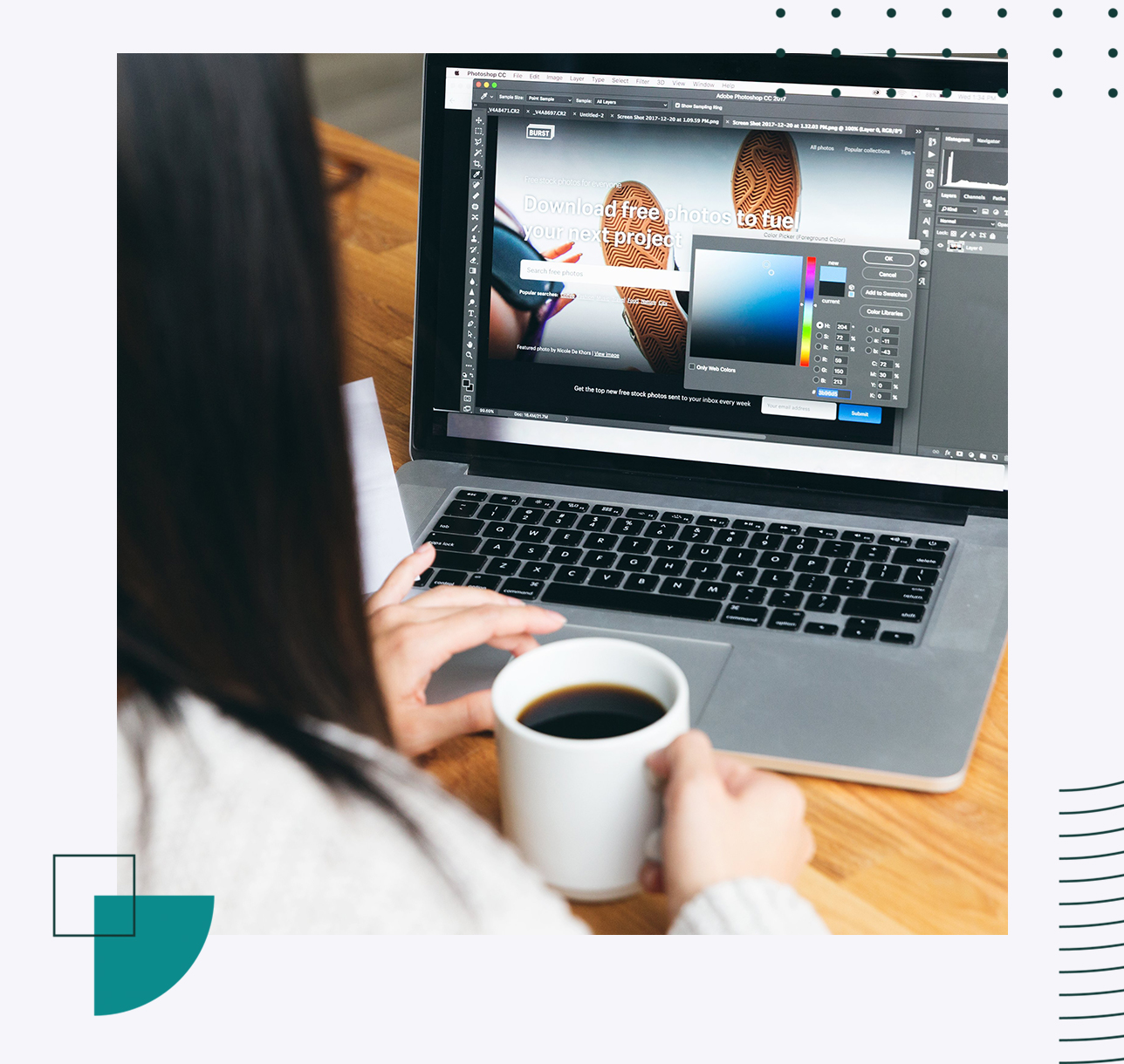 Get a professional graphic designer for your business in a few clicks