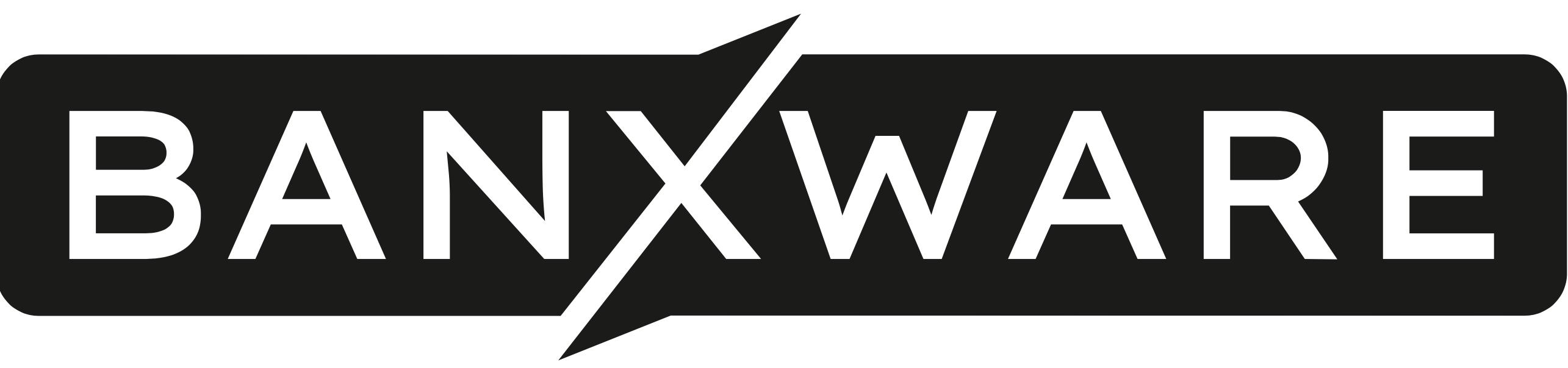 Banxware logo black png