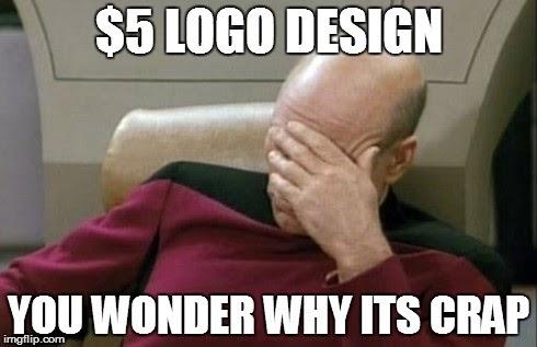 5 logo design, you wonder why it's crap