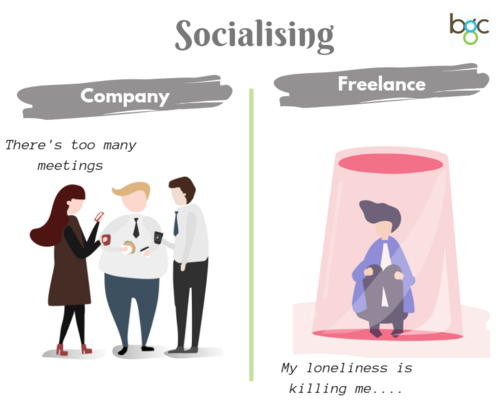 """""""There's too many meetings"""" vs the lonely life of a freelancer"""
