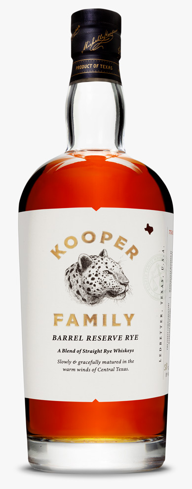 Kooper Family Barrel Reserve Rye Whiskey