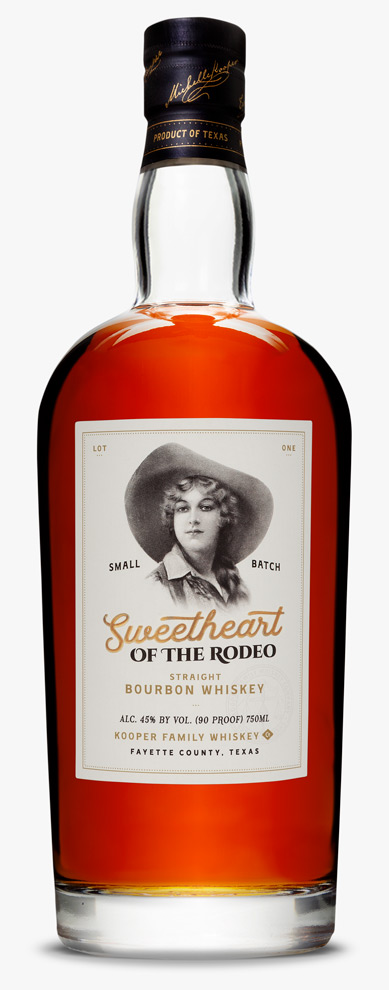 Kooper Family Sweetheart of the Rodeo Bourbon Whiskey