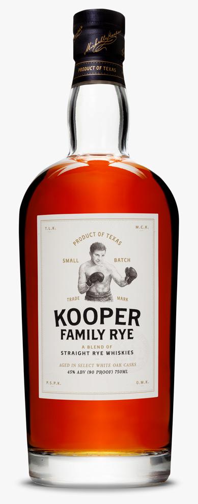 Kooper Family Rye Whiskey