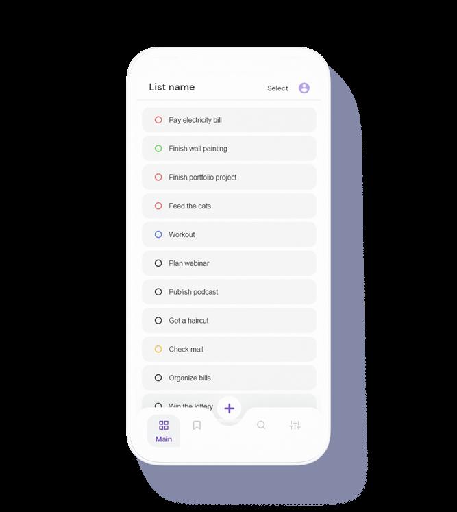 Group task - UX / UI case study mobile thumbnail