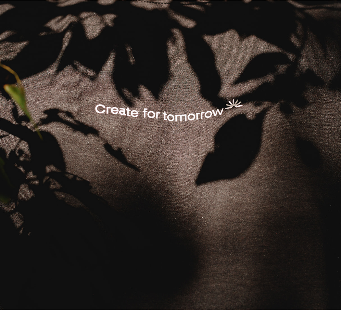 zoom in tee image front text