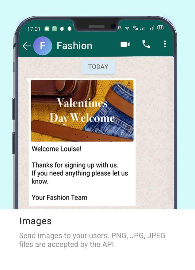 Whatsapp Message Type - Fashion 1
