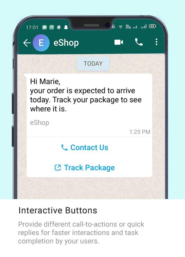 Whatsapp Message Type - ESHOP
