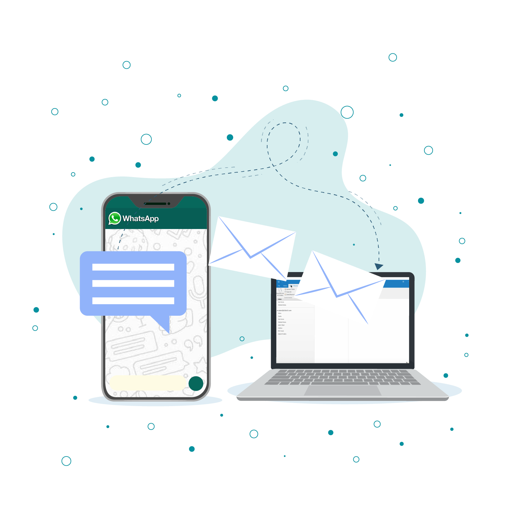 Integrate WhatsApp With Outlook