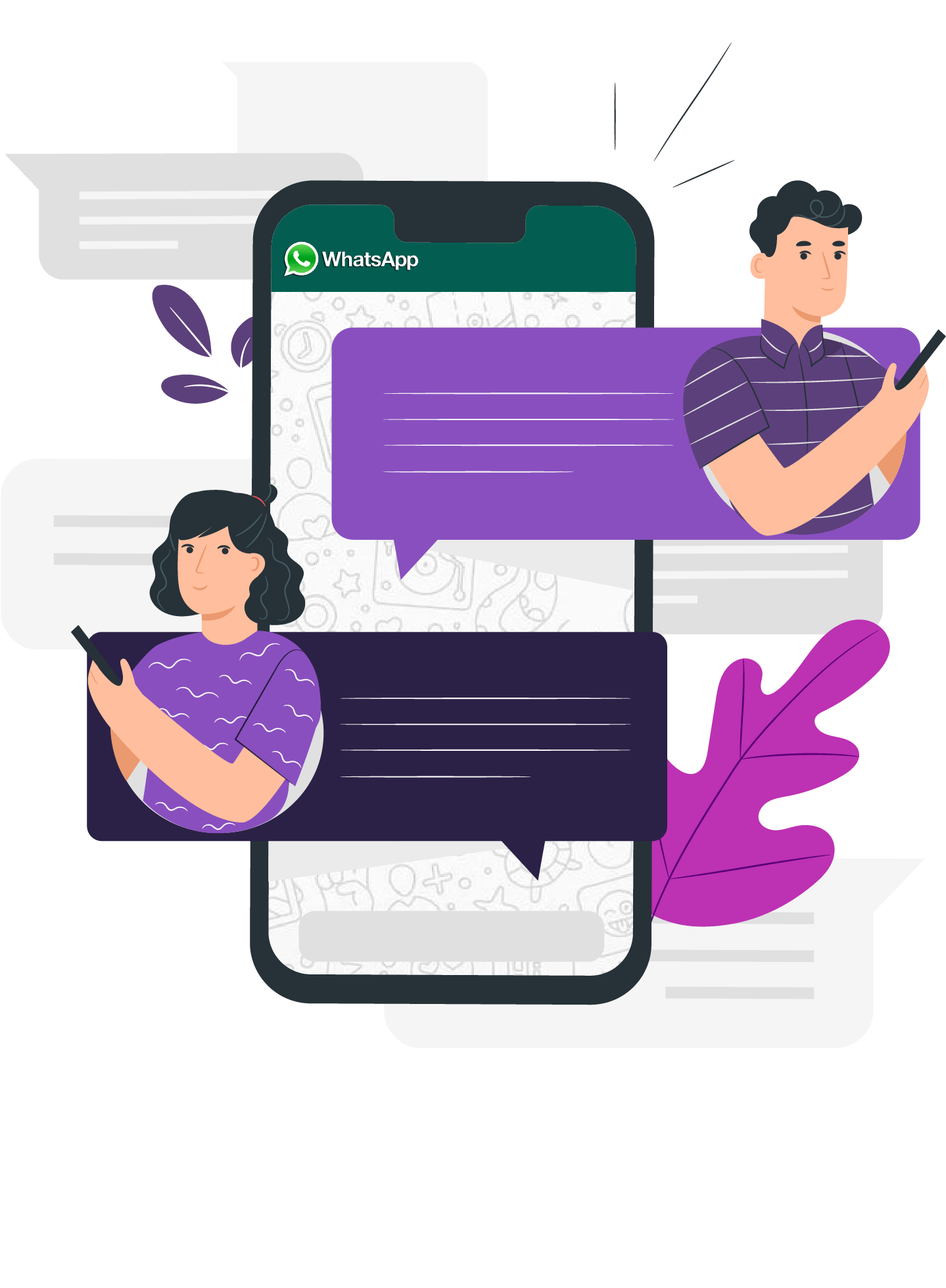 Chat with your Customers on Whatsapp
