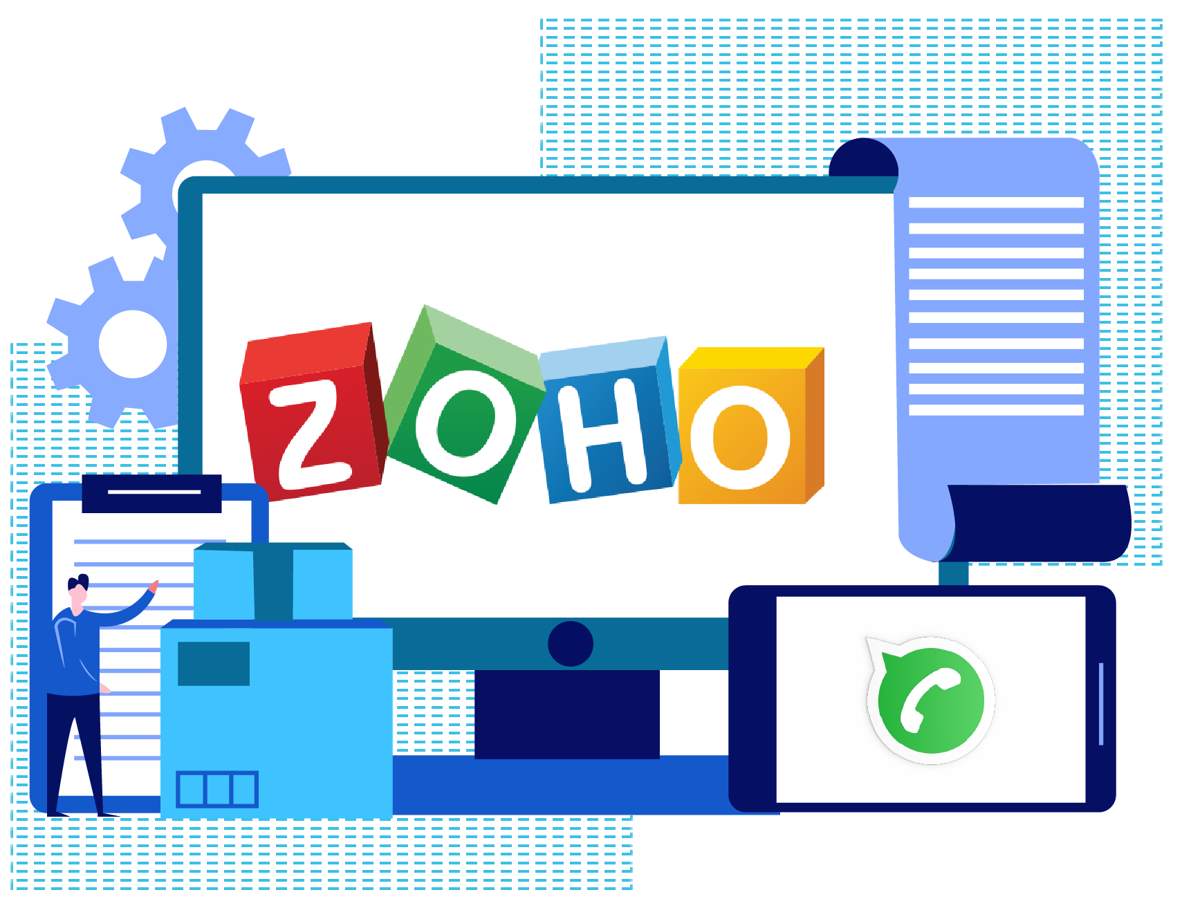 Streamline Your CRM Process With Zoho!