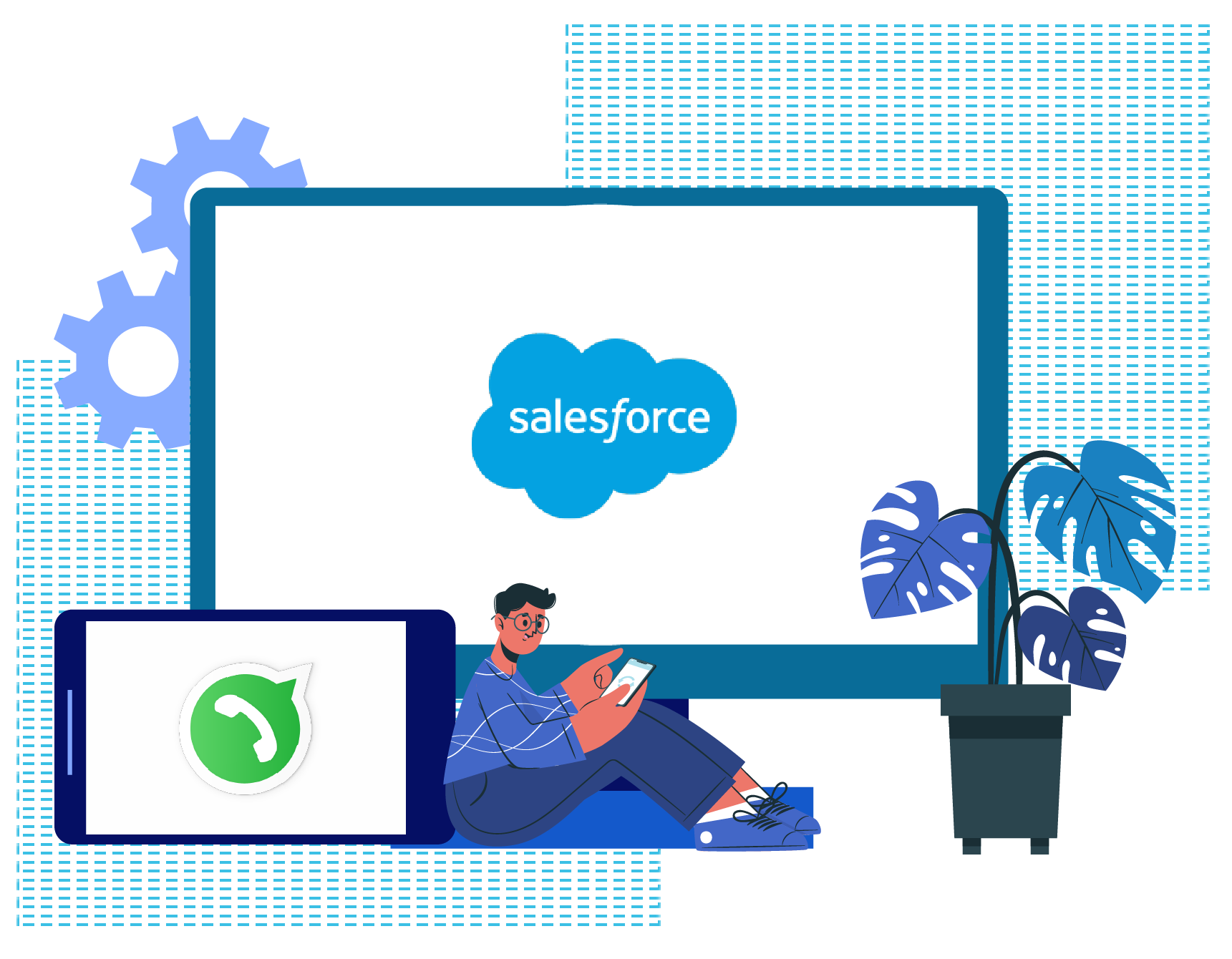 Integrate WhatsApp With Salesforce
