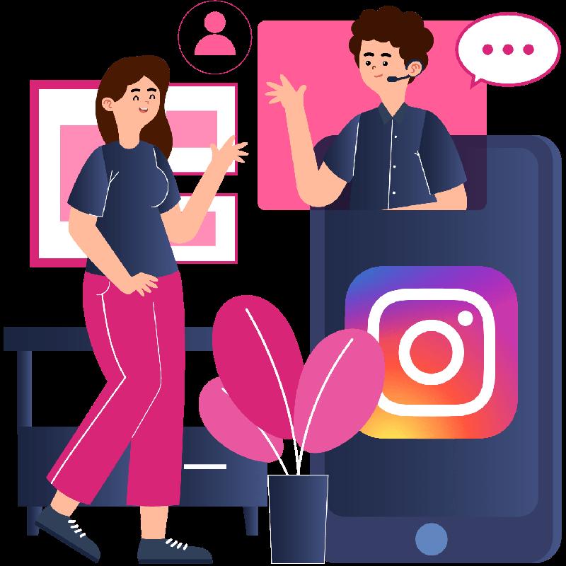 Agent Customer Support Instagram