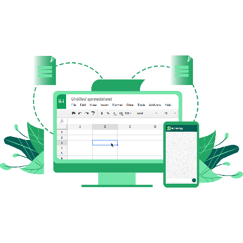 Integrate Google Sheets With WhatsApp!