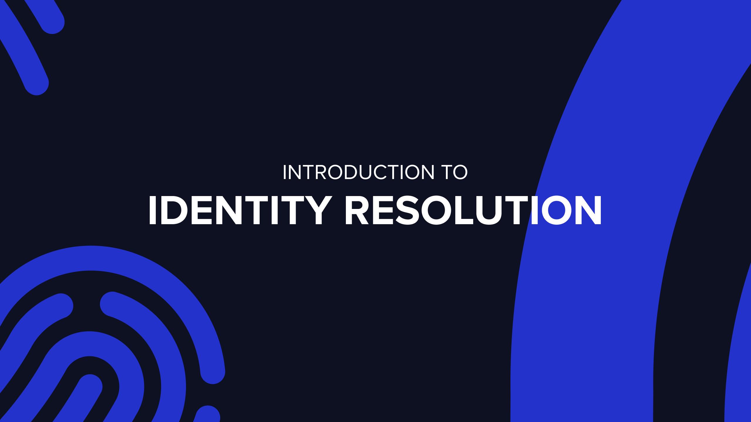Identity Resolution in SQL