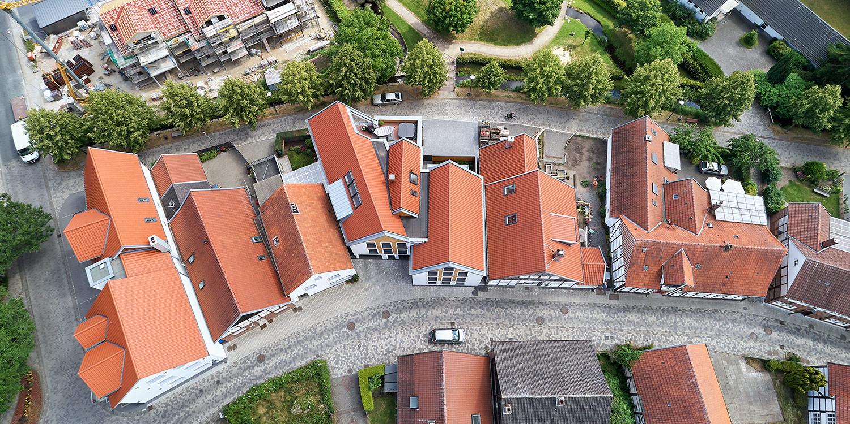Architekturfotografie, Mehrfamilienhaus bei Münster @ Philip Kistner