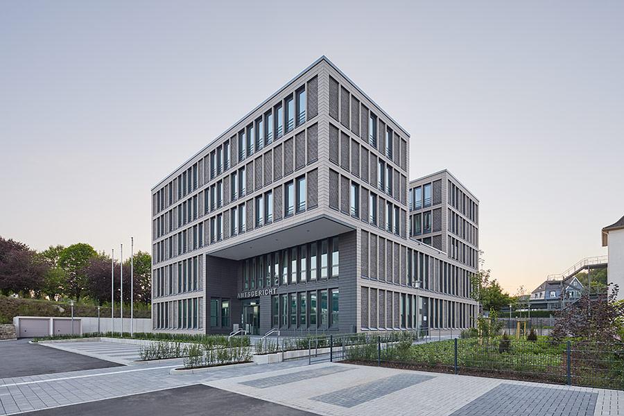 Amtsgerichts Gummersbach: Ein architektonischer Brückenschlag