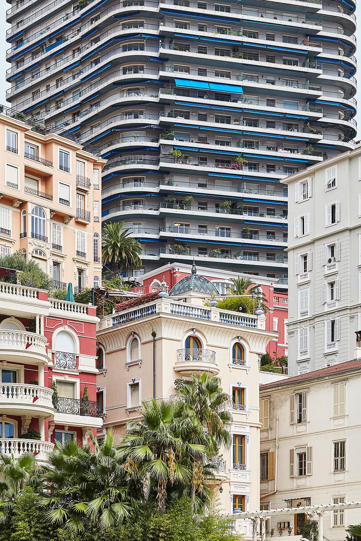 Architekturfotografien aus Monaco
