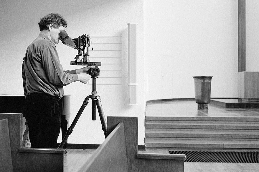 Der Architekturfotograf Tomas Riehle