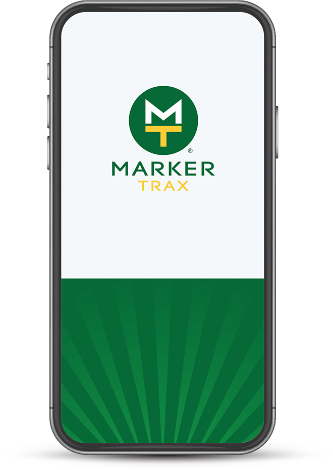 marker trax mobile application screen