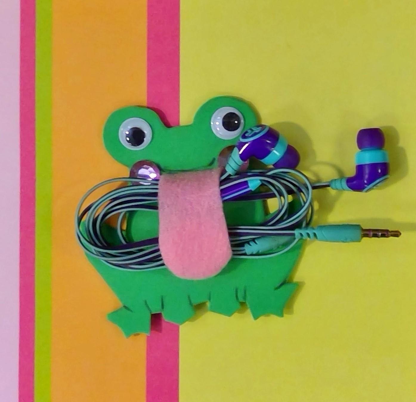 Frog Cord Organizer Craft