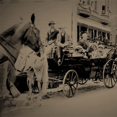 The Governor's Visit to Bethel - 1903
