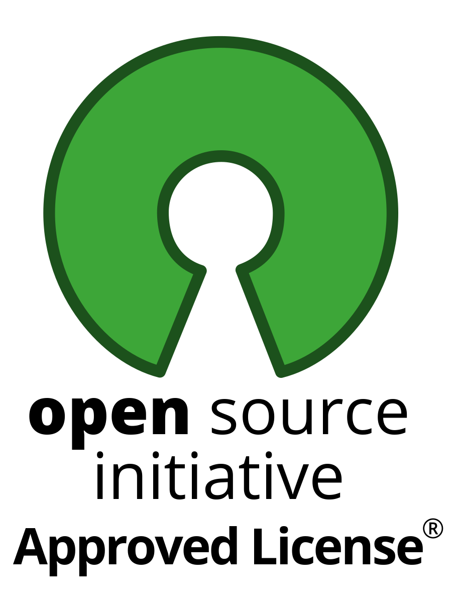 open source initiative approved license badge