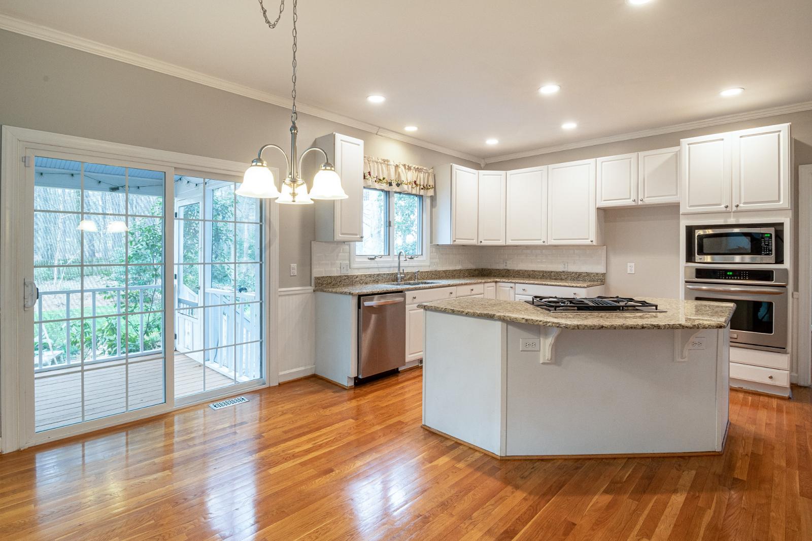 Kitchen with Sliding Glass Door