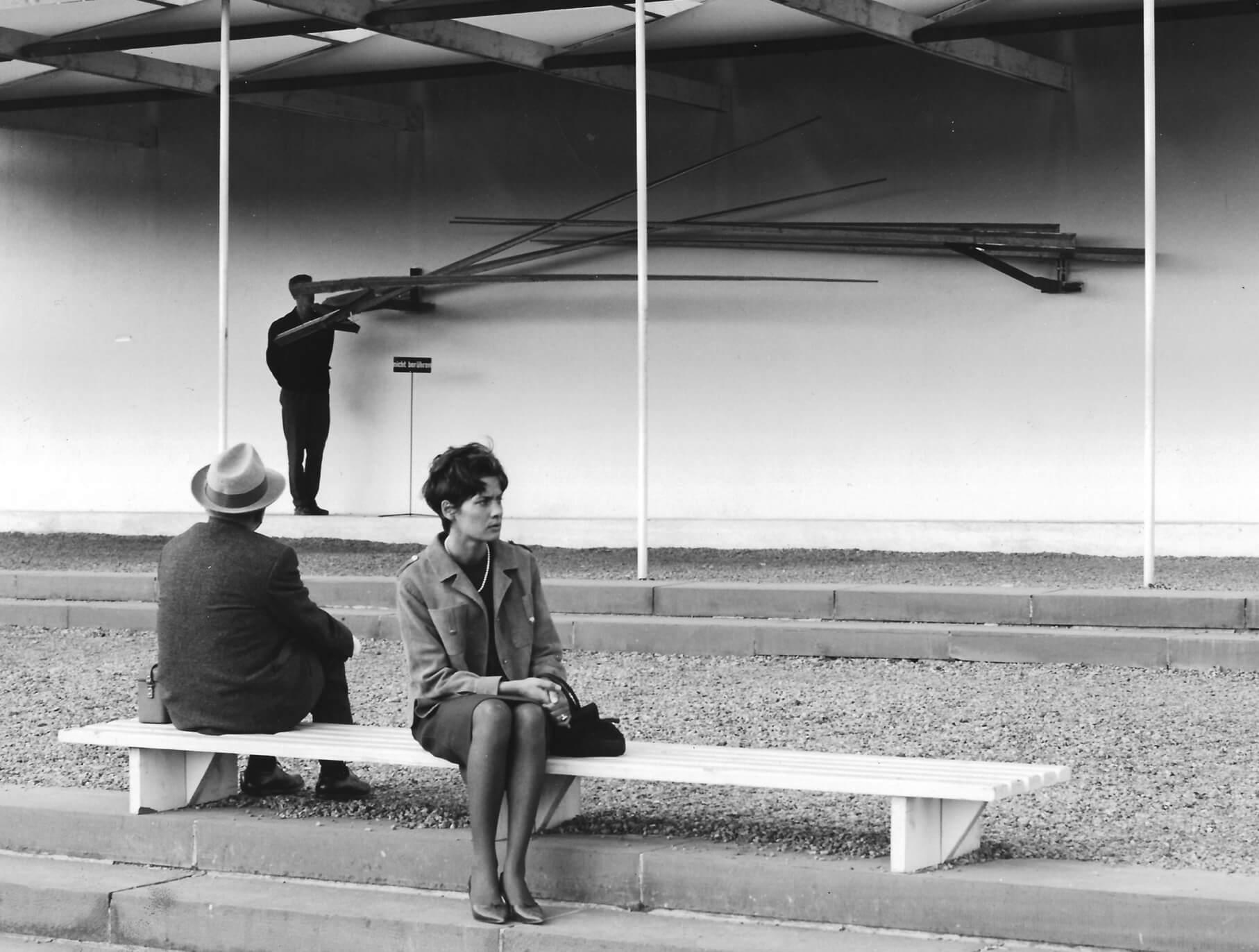 Landscape III Variation II (1964) at Documenta III, Jun 27–Oct 5, 1964, Kassel,Germany