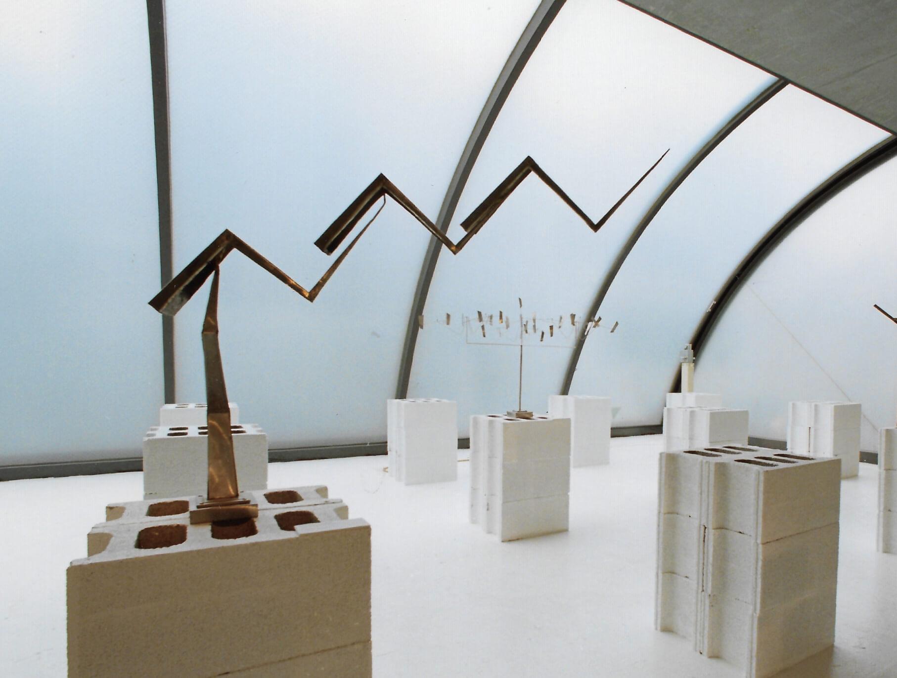 George Rickey, Sep 25–Oct 14, 1989, Gallery Kasahara, Osaka,Japan