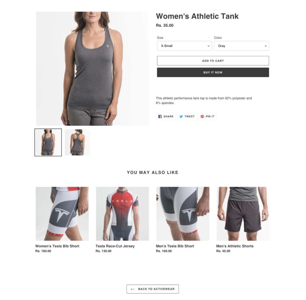 If your customer has put an item in their cart, then it is the perfect time to capture purchase intent by cross-selling them on related items.