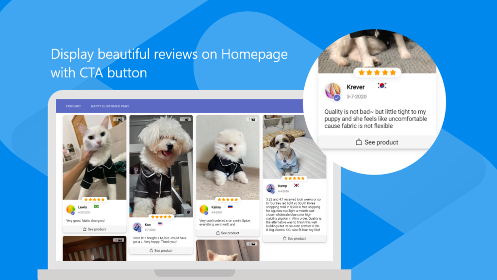 LAI Reviews is one of the best Shopify Review apps because it has a lot of features for it's cost. (High value!)