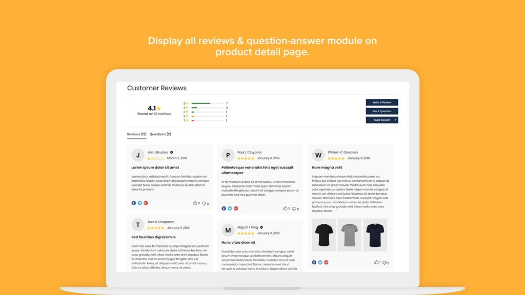Rivyo Product Reviews is one of the most affordable Shopify review apps on this list, even though it is missing some key features.