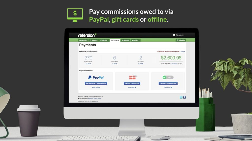 Refersion is one of the best Shopify affiliate apps if you don't mind paying commission on top of your base fees.
