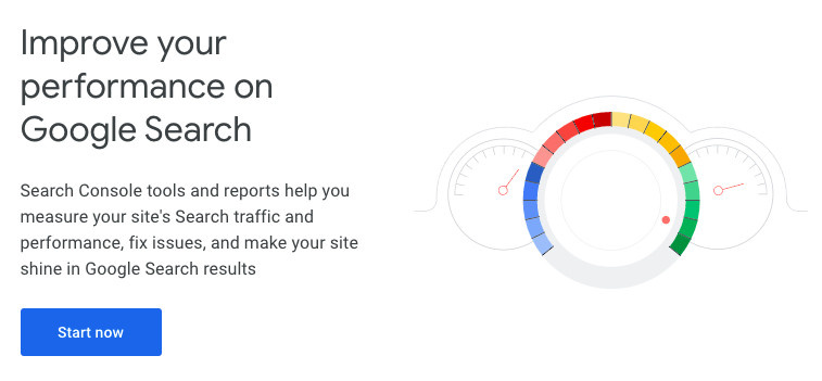The Google Search Console is important for helping Google find all of your website's content.