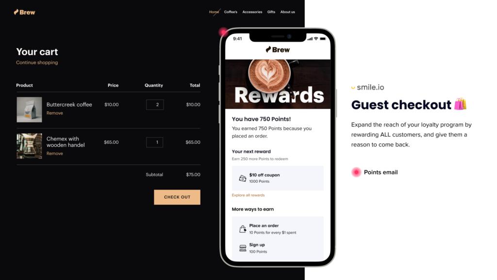 Smile Rewards & Loyalty, one of the best Freemium rewards apps
