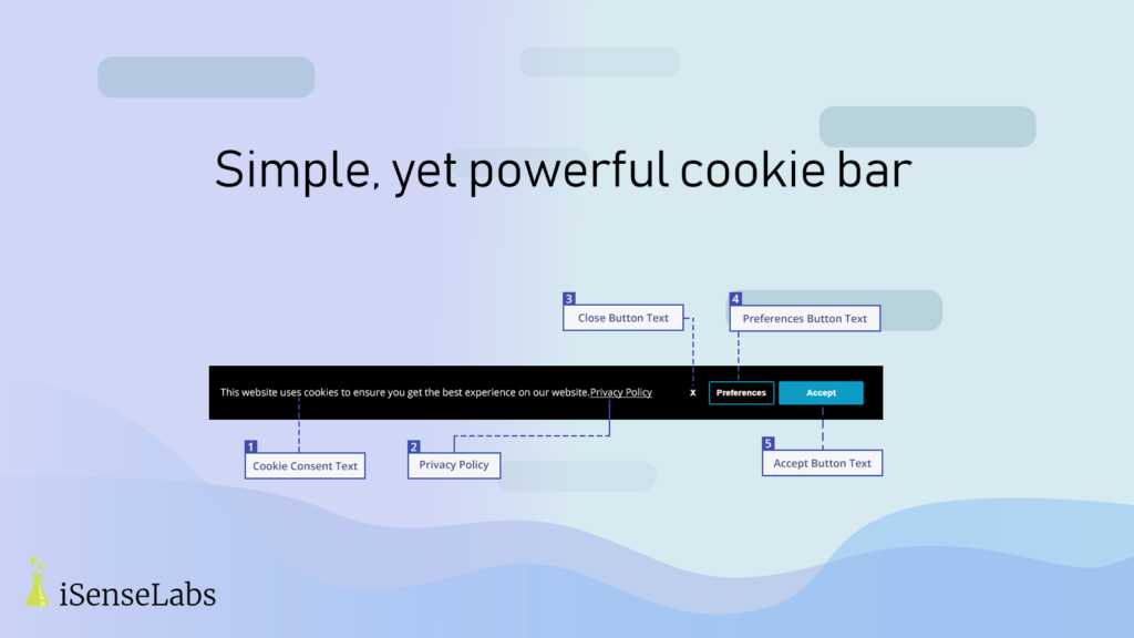 GDPA/CCPA + Cookie Management, a Shopify app by iSenseLabs